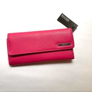 NWT Kenneth Cole Reaction pink wallet